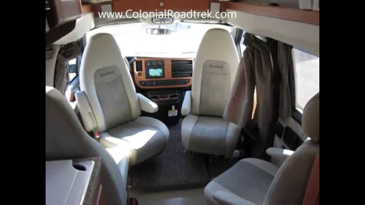 Chevy Express Van >> 2013 Roadtrek 170-Versatile Small Chevy Conversion Van Rv ...