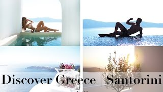 Discover Santorini | Travel Vlog with Ali Gordon & Lydia Millen