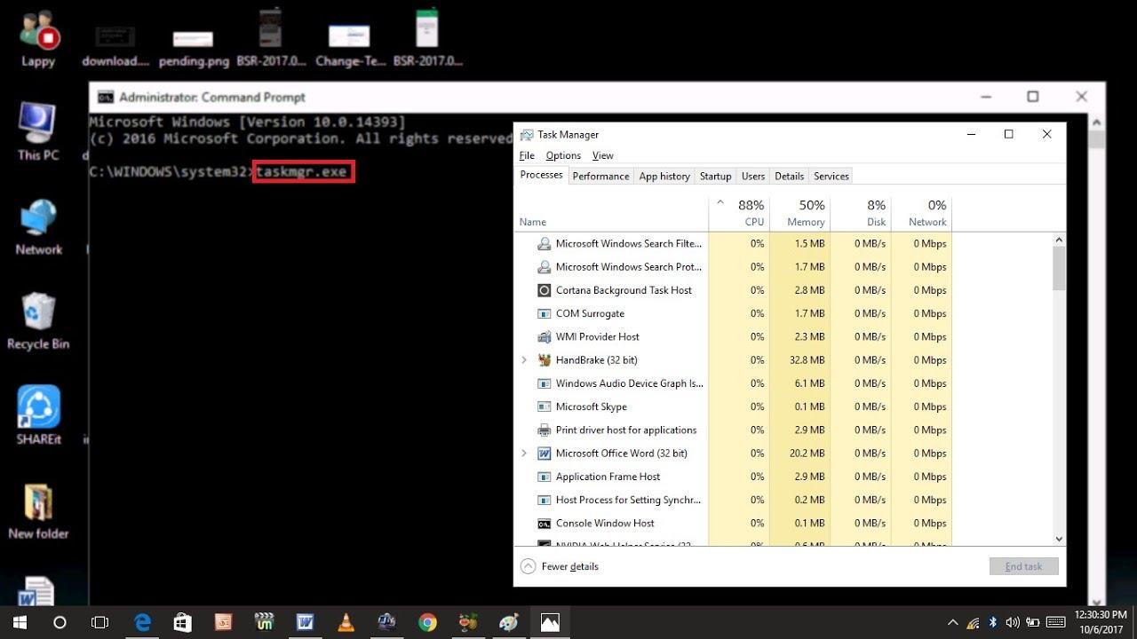 Hướng Dẫn Các Cách Mở Task Manager Trên Windows 10 - HUY AN PHÁT