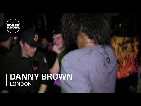 Danny Brown - 'Blueberry (Pills & Cocaine)' - live in the Boiler Room