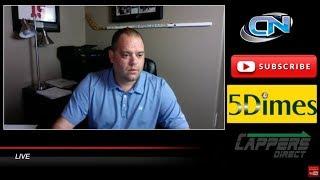 Cappers Nation Live - FREE NFL Monday Night Football & MLB Sports Picks Cleveland vs. NY Jet