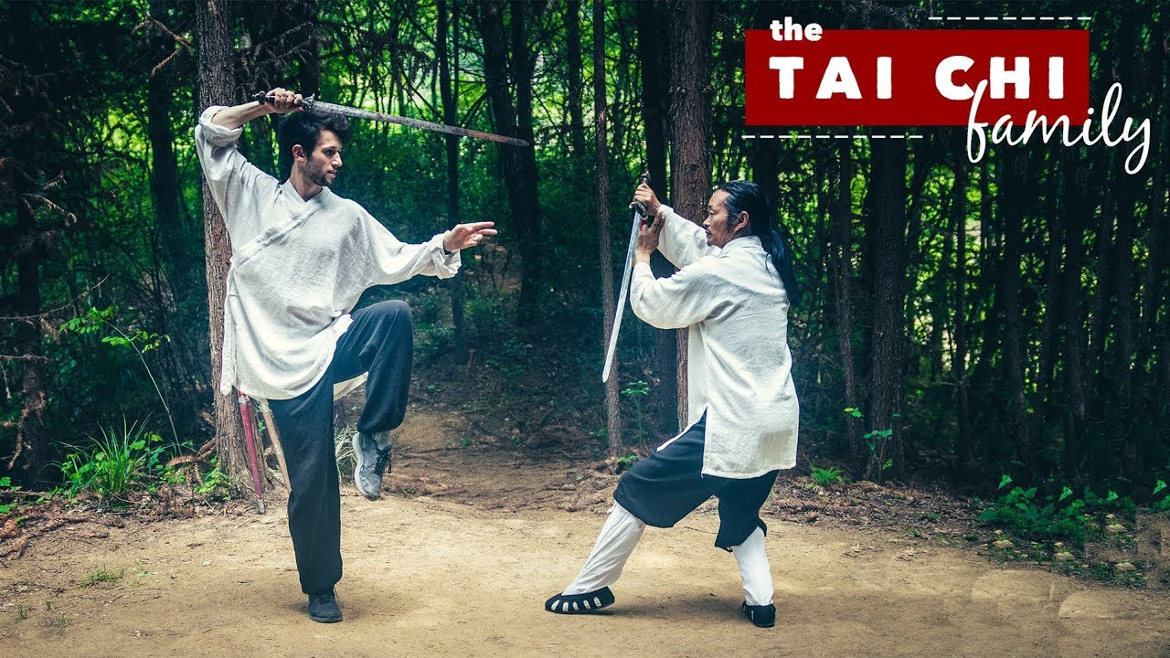 Tai Chi Sword Form! ⚔️ - Taoist Master Explains History of Tai Chi Sword
