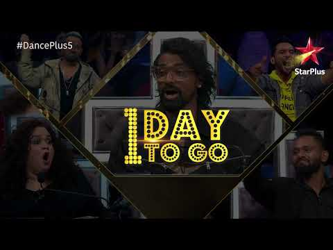 Dance+ 5   1 Day To Go