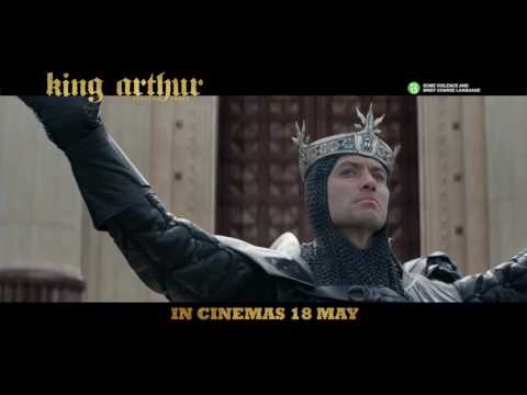 KING ARTHUR: LEGEND OF THE SWORD (30s 'Created' TV Spot) :: IN CINEMAS 18 MAY 2017 (SG)
