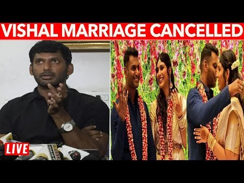 Vishal Marriage Cancelled - Shocking Reason Revealed
