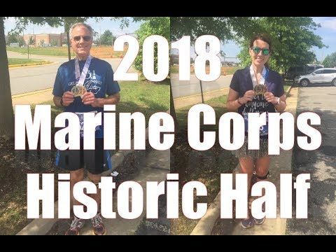 2018 marine corps historic half marathon youtube
