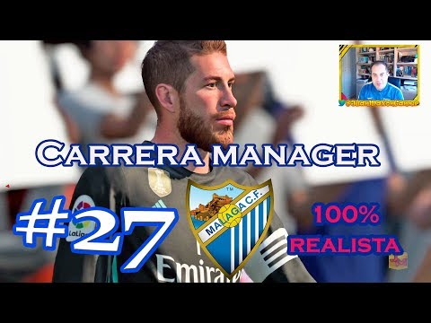 ¡¡LA ROSALEDA RECIBE AL REAL MADRID!!   FIFA 18 C.M. REALISTA MALAGA CF #27