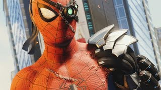 CYBER SPIDER-MAN SUIT in SPIDER-MAN PS4 SILVER LINING DLC Walkthrough Gameplay (Marvel
