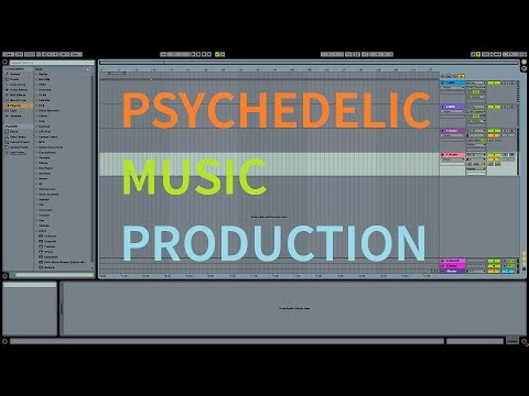 Ableton Production Workflow 01. Psytrance:...