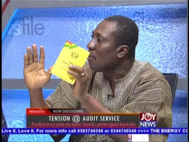 Tension @ Audit Service - Newsfile on JoyNews (29-9-18)