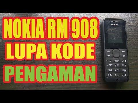 CARA BUKA LUPA KODE PENGAMAN NOKIA 105 (RM 908)