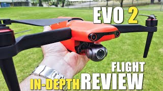 Autel EVO 2 Flight Test Review IN-DEPTH - How good is it...REALLY!?