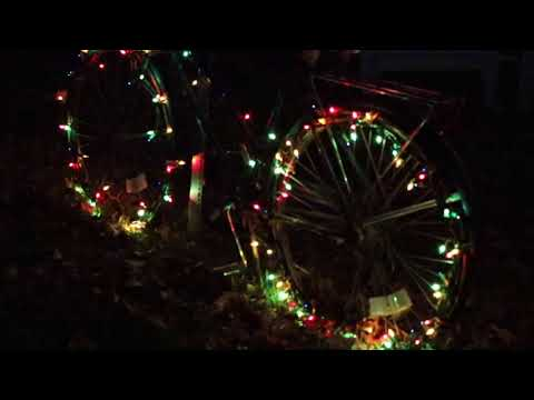 Multi Color Chasing Lights Bicycle Wheels
