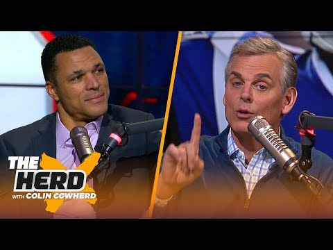 Tony Gonzalez on 'devastating' no-call in Saints' loss & criticism on the Patriots | NFL | THE HERD
