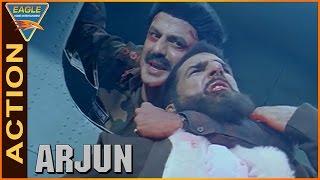 Arjun Movie    Balakrishna Super Climax Fight Scene    Balakrishna,Laya   Eagle Hindi Movies