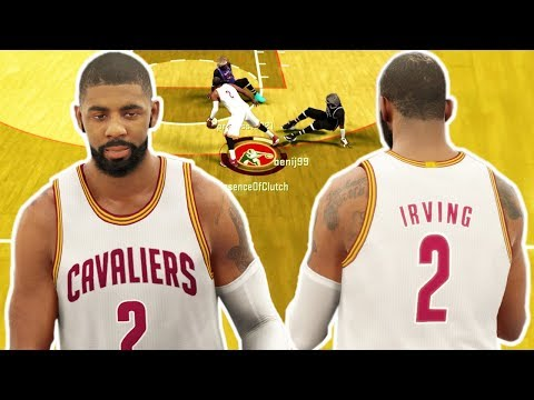 KYRIE IRVING CRAZY ANKLE BREAKERS & JELLY LAY UPS NBA 2K17
