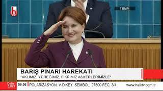 İYİ Parti Grup Toplantısı 15 Ekim / Meral Akşener'den Erdoğan'a ciddi uyarı!
