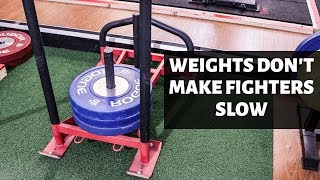 Weights Don't Make Fighters Slow