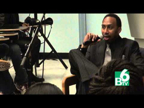 BTV's Stephen A. Smith Binghamton University Visit