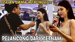 Sekian lama menunggu||Akhir nya dia menyanyi jugak ngam lah lagu vietnam musik lagu raya..