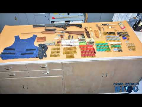 Southwest Fresno gang member found with 500 rounds on ammo (California)
