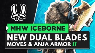 Monster Hunter World Iceborne | New Dual Blades Moves, Gameplay & Master Rank Anjanath Armor