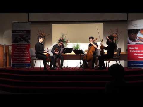 14th Annual DQMF-Fellow Quartet Recital (Schubert Death and the Maiden)
