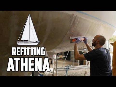 Sail Life - Osmosis treatment, fairing the hull - episode 3 of 5