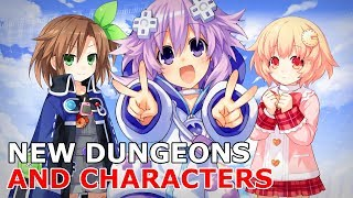New Characters and Dungeons | Neptunia Re;Birth 1 DLC