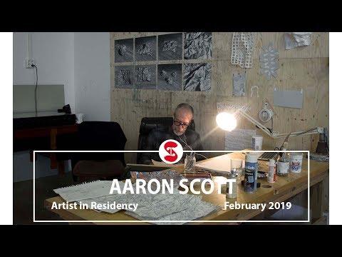 Aaron Scott | Artist in Residence | February 2019