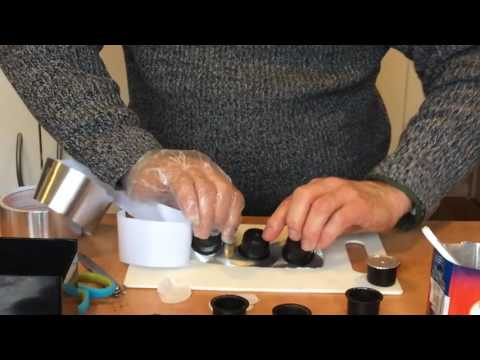 How to refill expresso capsules  (Tony's way)