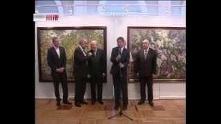 видео Выставка «Академия акварели и изящных искусств Сергея Андрияки»