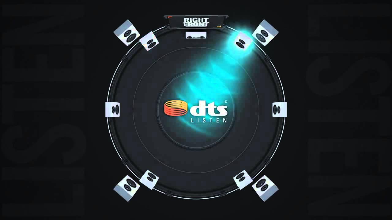 DTS Headphone:X Sound Check Demo