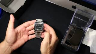 armani exchange men s watch ax2200 распаковка