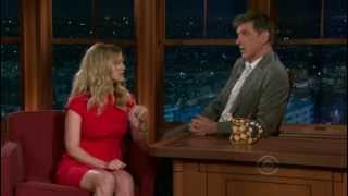 Late Late Show with Craig Ferguson 5/19/2010 Dennis Quaid, Alice Eve