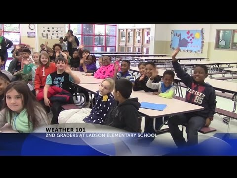 Weather 101 with Rob Fowler at Ladson Elementary School
