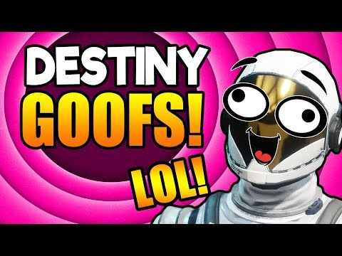 THE GOOFY GUARDIANS!   Funny Destiny 2 Gameplay!