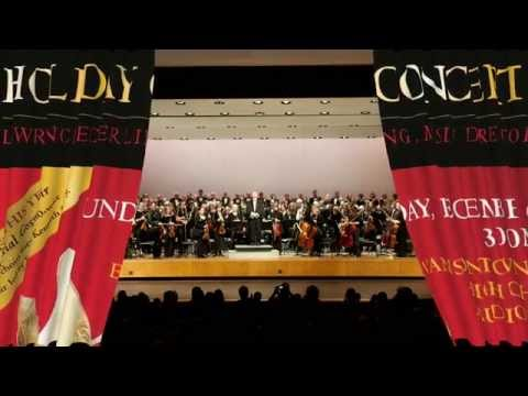 Evanston Symphony Orchestra Holiday Concert 2015