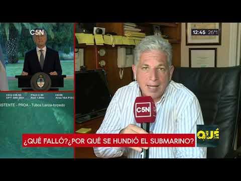 ARA San Juan: Las hipótesis del hundimiento