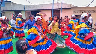 Chaliya Dance Kumaoni at Khatima