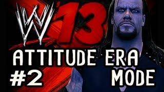WWE 13: Attitude Era Mode On LEGEND Ep.2: GET DQ