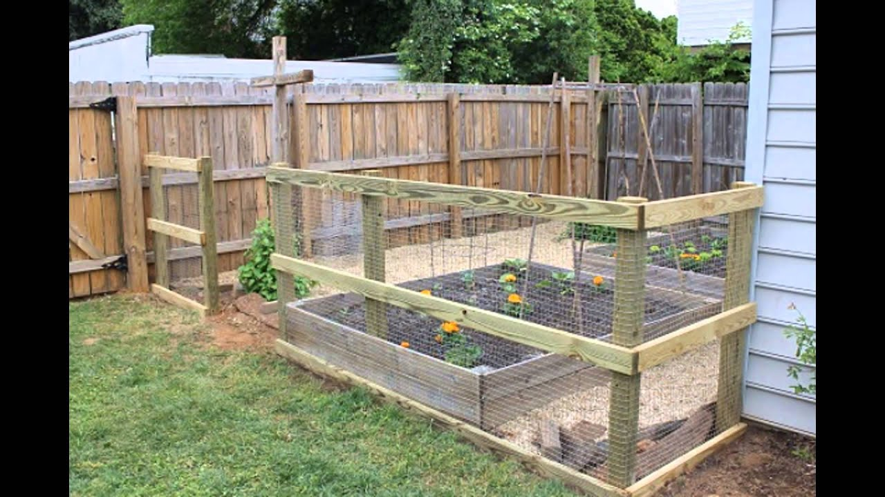 How to Build a Garden Fence  YouTube