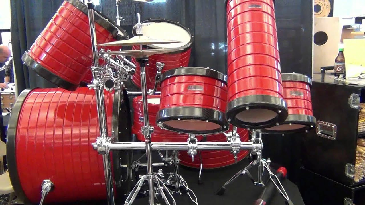 rock custom drums booth at the chicago vintage and custom drum show 2012 youtube. Black Bedroom Furniture Sets. Home Design Ideas