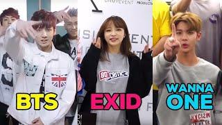 101 kiểu chào cực độc của các nhóm nhạc K-Pop - Kpop Idol Groups Greetings Compilation