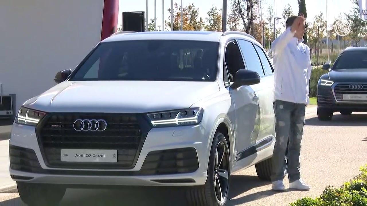 Audi entregó los coches oficiales a la plantilla de baloncesto ...