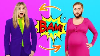 BOY vs GIRL BODY SWITCH UP! Funny Relatable Moments and Pranks by 5-Minute Crafts LIKE