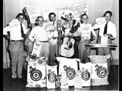 Hank Williams and The Drifting Cowboys - Alabama Jubilee (mother's best flour)