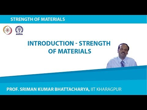 Introduction - Strength of Materials