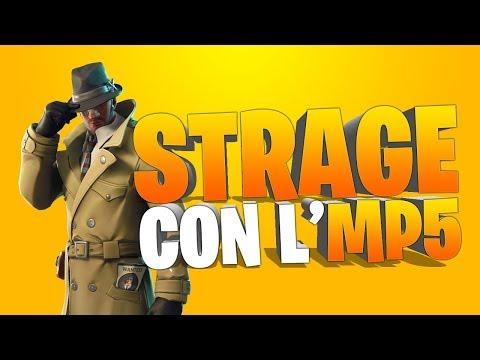 FACCIO UNA STRAGE CON L'MP5 GRIGIO! | FORTNITE ITA