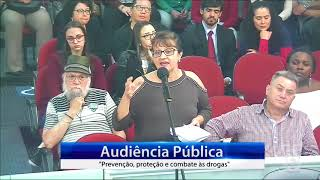 Especialistas, autoridades e grande público fazem rico debate sobre drogas